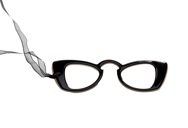 Brilketting Filao Face a Main Capucine zwart/beige