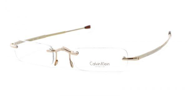 Calvin Klein opvouwbare leesbril CR1E510 Goud