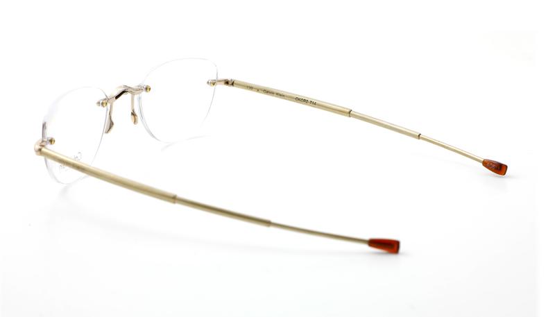 Calvin Klein opvouwbare leesbril CR2 714 Goud