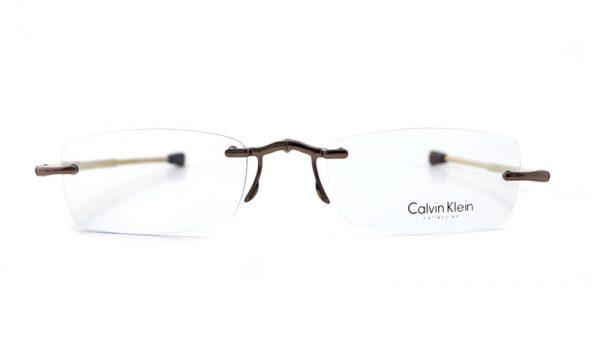 Calvin Klein opvouwbare leesbril CR3 209 Goud/Tan