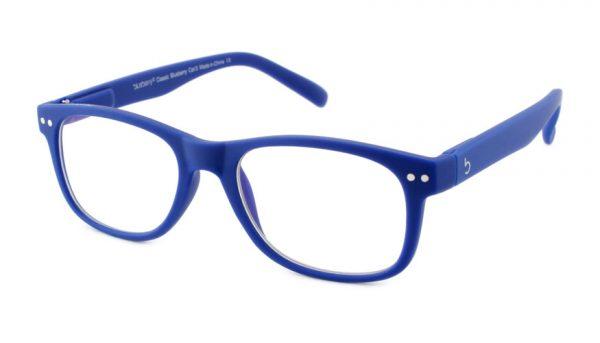 Computerbril Blueberry L blauw