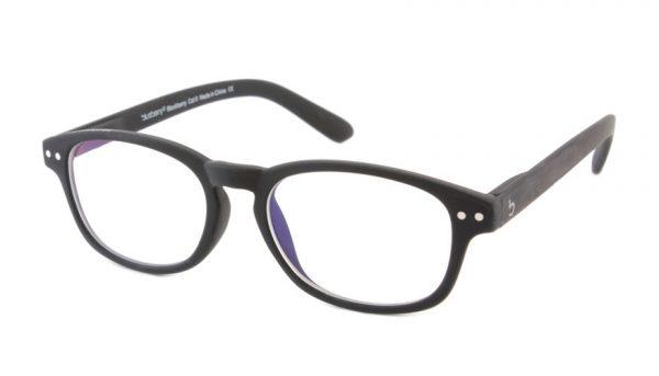 Computerbril Blueberry S zwart