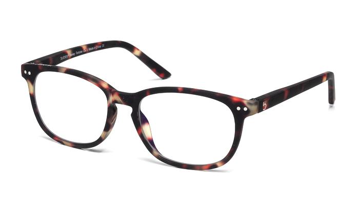 Computerbril Blueberry XL donker havanna
