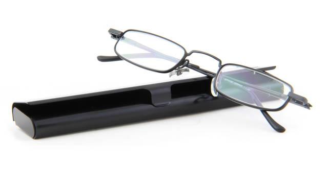 Extra platte leesbril INY David G9600 zwart