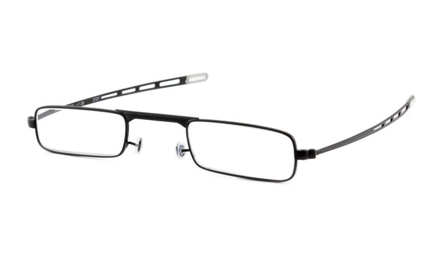 Extra platte leesbril INY G5300 pen Zwart (9 mm)