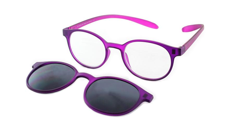Lees en zonneleesbril in één Proximo PRIS002 C08 paars