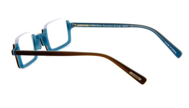 Leesbril Brooklyn Bridge 2888 10 bruin/blauw