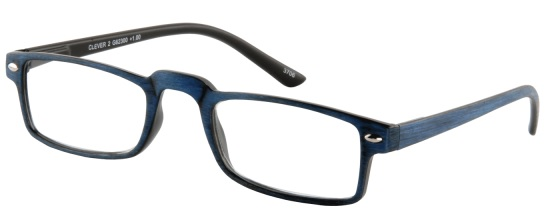 Leesbril Clever 2 G62300 blauw