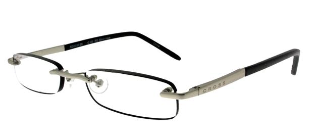 Leesbril Cross RD0030 zilver/zwart