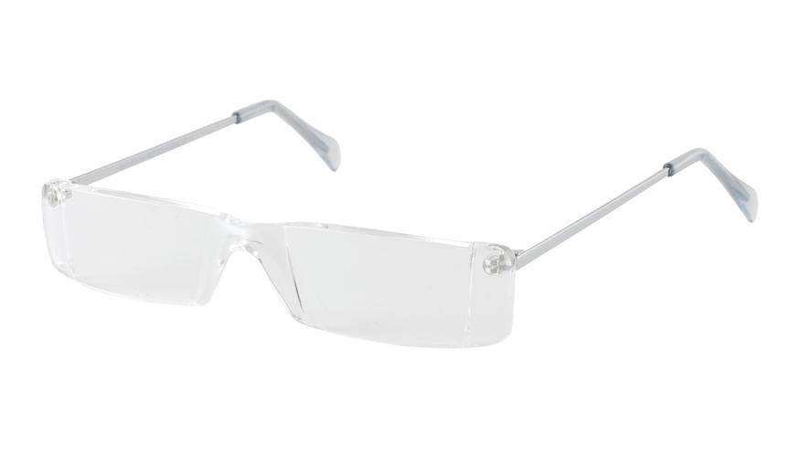 Leesbril Eschenbach randloos 291015 transparant/zilver