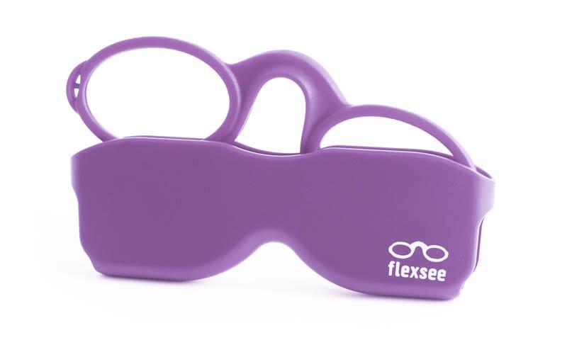 Leesbril Flexsee Lila