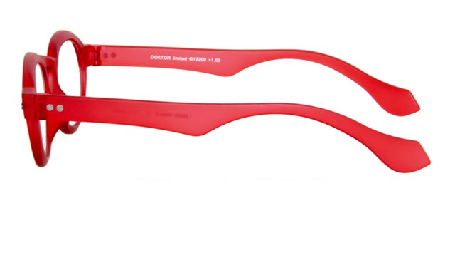 Leesbril INY Doktor G12200 rood/transparant