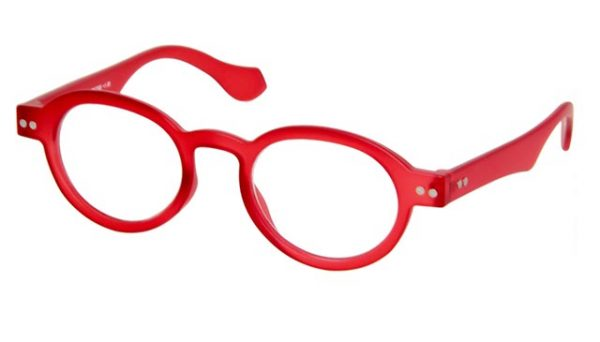 Leesbril INY Doktor G12200 rood/transparant