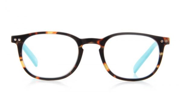 Leesbril INY Icon Double G55700 havanna/turkoois
