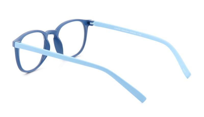 Leesbril INY Icon Double G56000 donkerblauw/lichtblauw