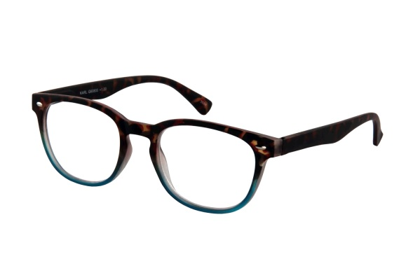 Leesbril INY Karl G60800 havanna blauw
