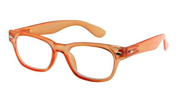 Leesbril INY Woody G14500 oranje/transparant