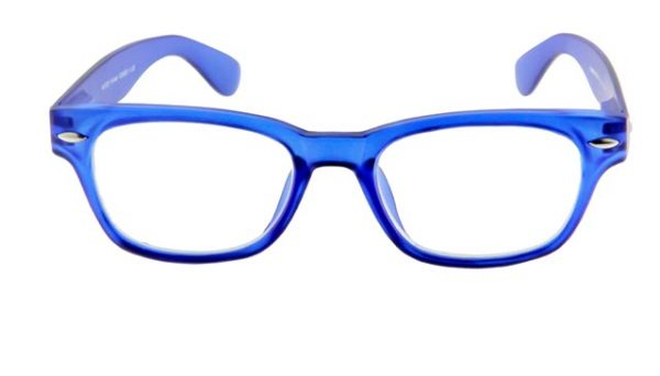 Leesbril INY Woody G38800 blauw/transparant
