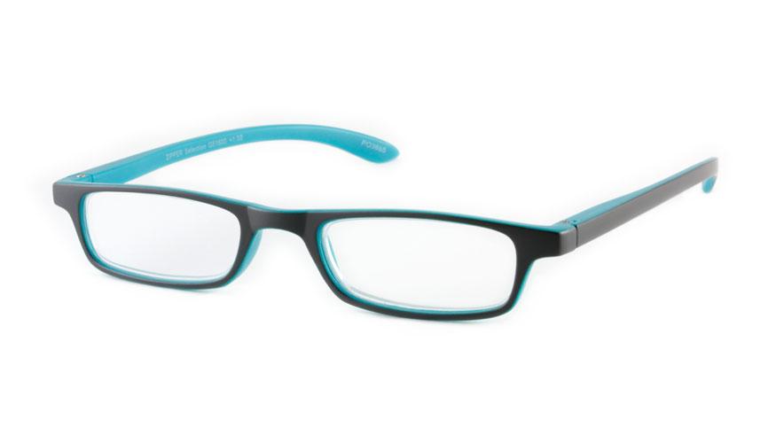Leesbril INY Zipper Selection G51600 grijs/turqoise