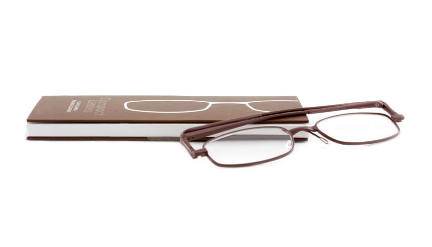 Leesbril If Compact Espresso opvouwbaar bruin
