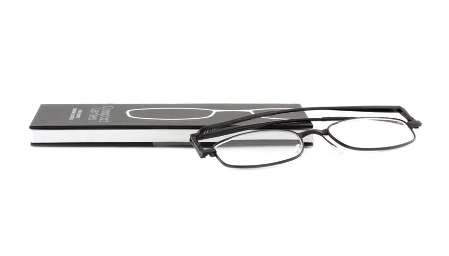 Leesbril If Compact Jet opvouwbaar zwart