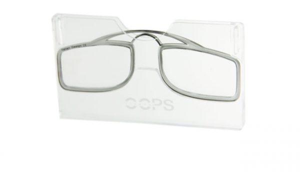 Leesbril OOPS grijs/transparant