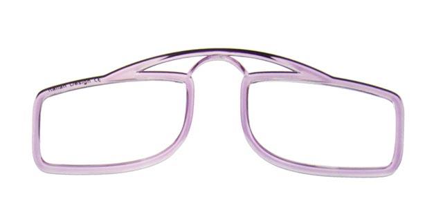 Leesbril OOPS paars/transparant