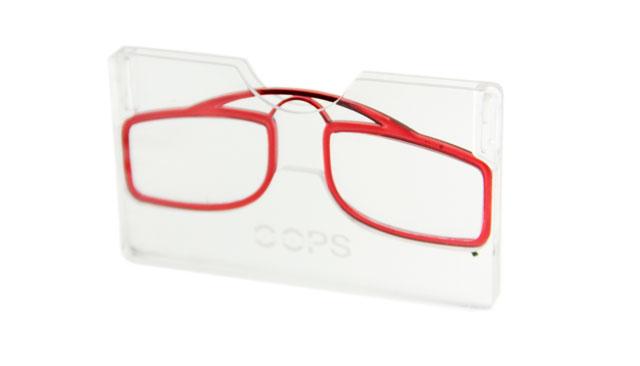 Leesbril OOPS rood/transparant