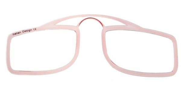 Leesbril OOPS roze/transparant