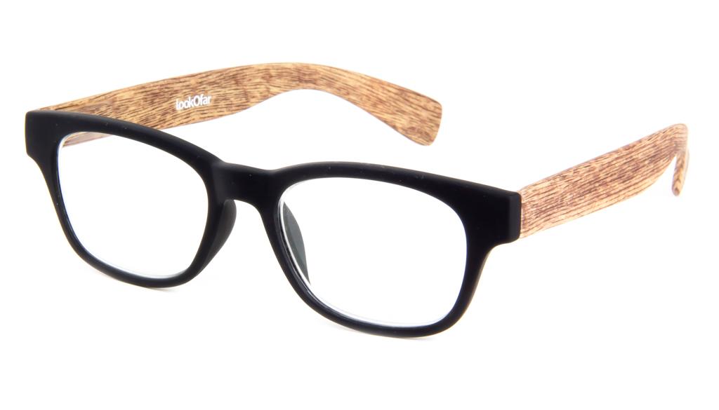 Leesbril Ofar LE0166A hout zwart