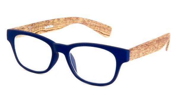 Leesbril Ofar LE0166B hout blauw