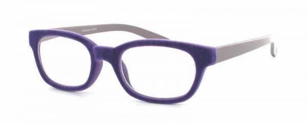 Leesbril Polaroid R989 fluweel paars/zwart