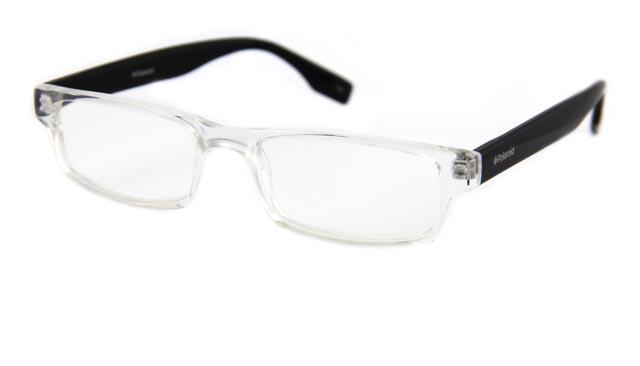 Leesbril Polaroid S3413 crystal/zwart