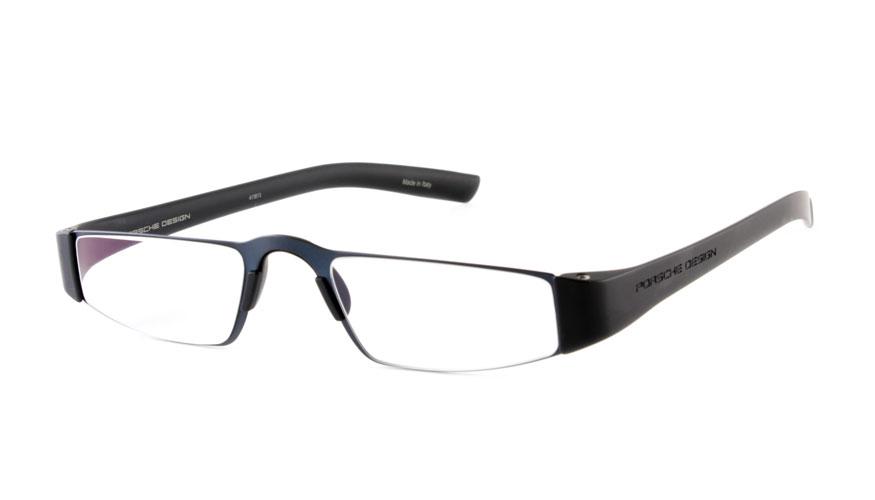Leesbril Porsche Design Limited Edition P'8801s titanium zwart/blauw
