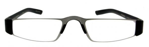 Leesbril Porsche Design P'8801a titanium/zwart +2.00