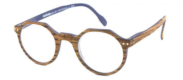 Leesbril Readloop Hurricane 2623-03 bruin/hout
