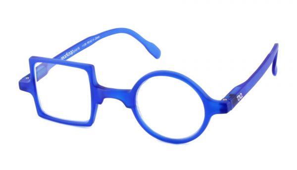 Leesbril Readloop Patchwork 2607-06 blauw