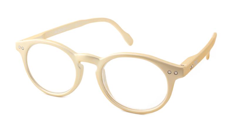Leesbril Readloop Tradition 2601-08 goud met uv en blauwlicht filter