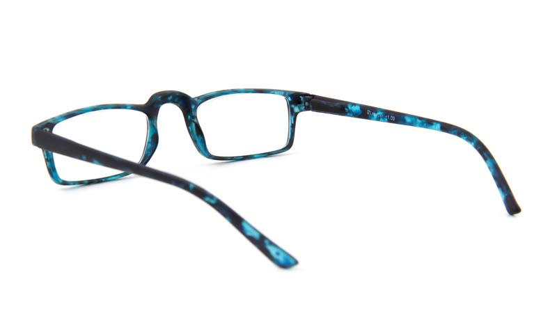 Leesbril iZi reader 14 blauw/zwart