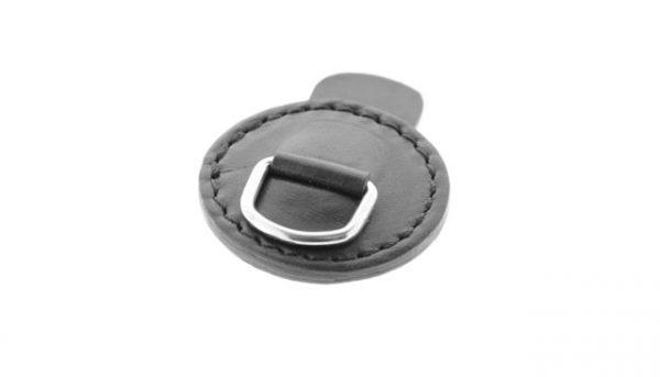 Leren magneet brilhangertje 1332 05 stylish zwart