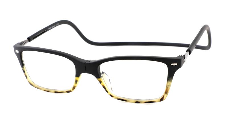 Magneet leesbril Nordic Glasögon black demi