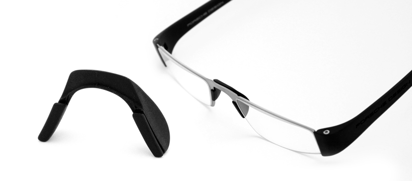 Neusbrug voor alle Porsche leesbrillen zwart