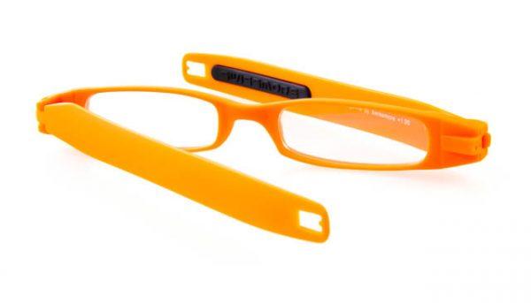Opvouwbare leesbril Figoline oranje
