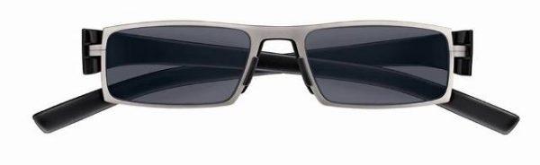 (Zonne)leesbril Porsche Design P'8802a ColorMatic® titanium/zwart