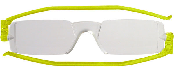 Leesbril Nannini compact opvouwbaar lime