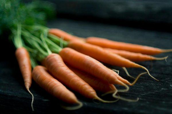 wortels zijn goed voor je ogen