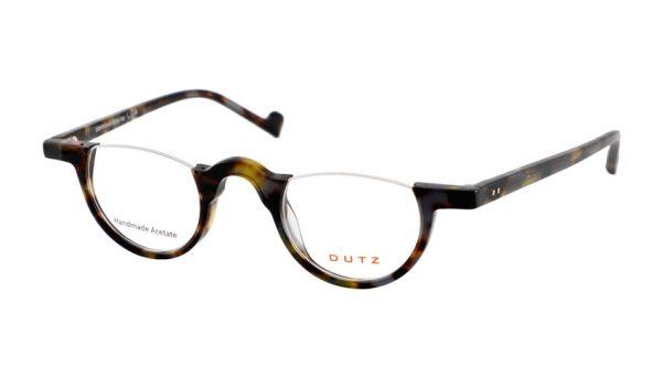 Leesbril Dutz lookover DZ2179 85 bruin / blauw / geel