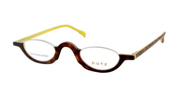 Leesbril Dutz lookover DZ2216 15 ovaal havanna / geel