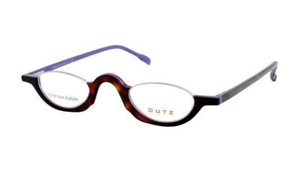 Leesbril Dutz lookover DZ2216 75 ovaal havanna / lavender