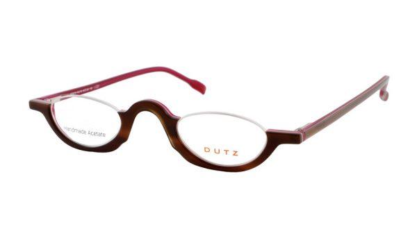 Leesbril Dutz lookover DZ2216 76 ovaal havanna / framboos